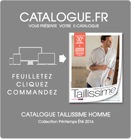 Catalogue TAILLISSIME HOMME